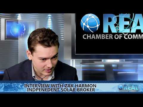 Real Chamber Of Commerce Interview Aimee Jones and Zak Harmon