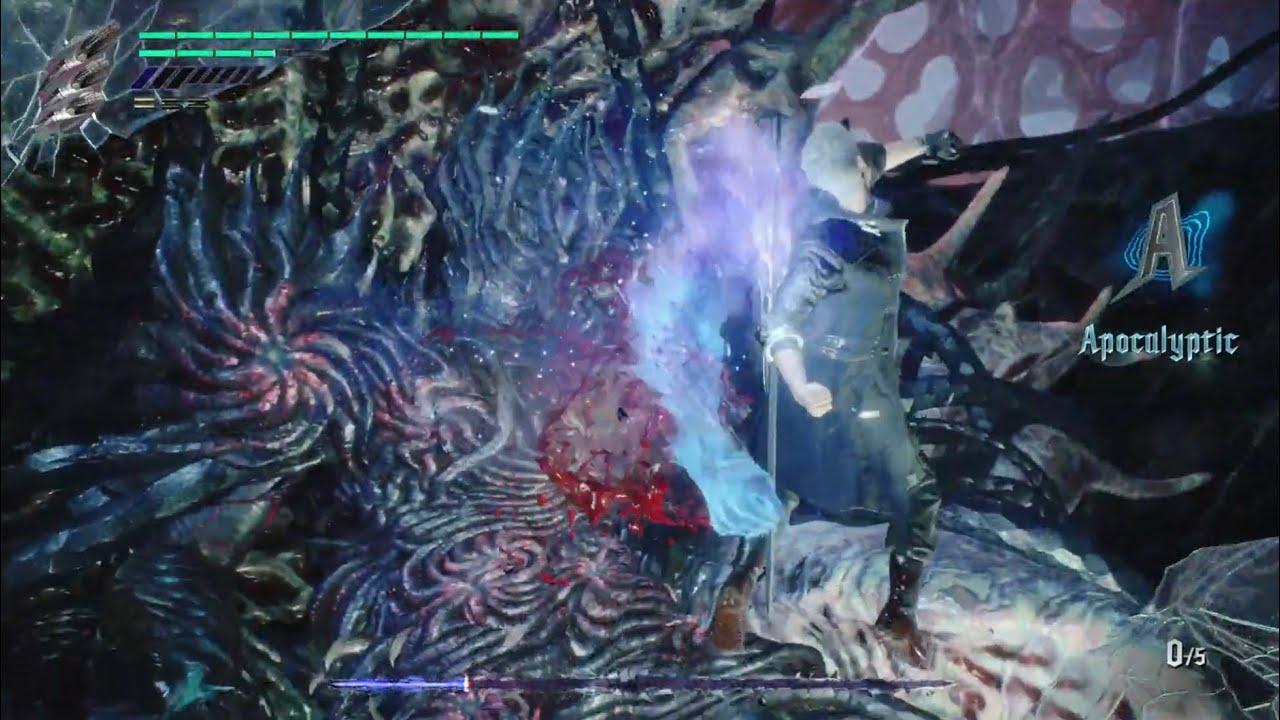 Devil May Cry 5 - Secrect Ending defeat Urizen (Prologue)   惡魔獵人5 - 隱藏結局