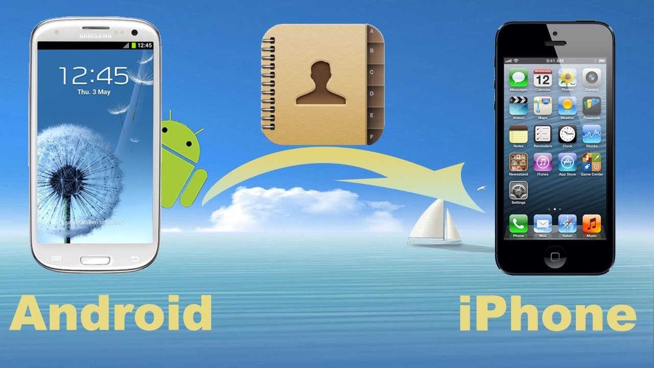 Phone How To Transfer Iphone Contact To Android Phone android to iphone copy contacts from phone transfer iphone