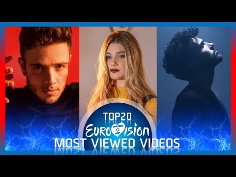Eurovision 2019 - TOP20 Most Viewed Songs From Eurovision.TV Channel thumbnail