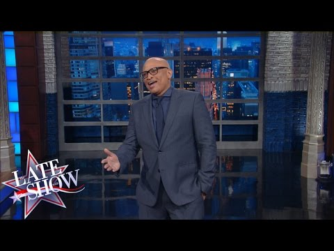 Welcome to the Late Show, I'm Your Host Larry Wilmore