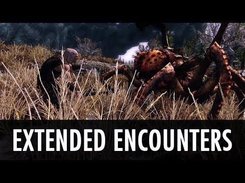 skyrim advanced adversary encounters