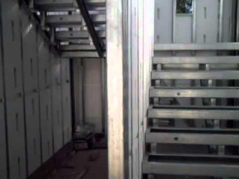 Panel gbs escaleras prefabricadas youtube for Escaleras retractiles