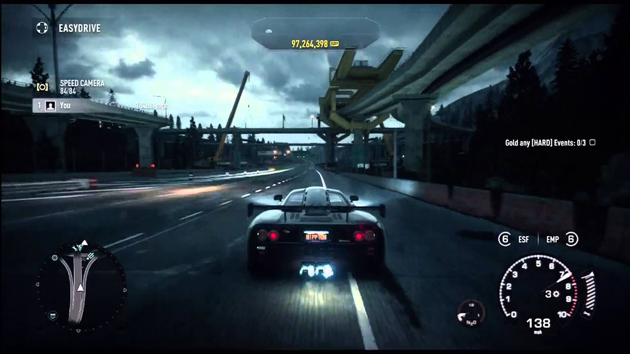 Need For Speed Rivals Mclaren F1 Lm Uc Top Speed Test