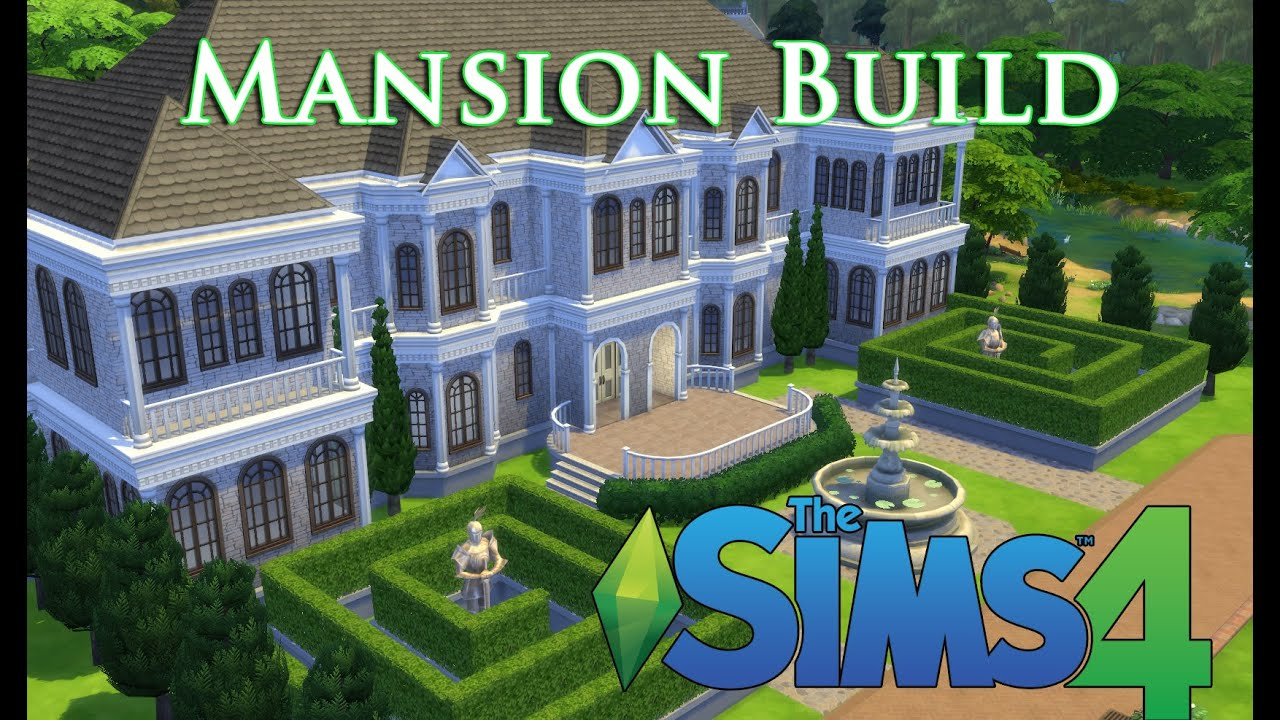 The Sims 4 Let S Build A Mansion Episode 1 Youtube