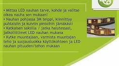LED Nauhat 3528 ja 5050 käyttökohteet