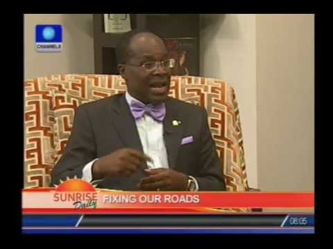 Nigeria has not had any road maintenance in 30 years-Engineer PT 2