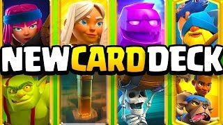 I put Clash Royale's 8 NEW CARDS into ONE DECK and then...