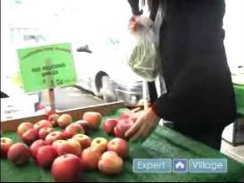 Healthy Whole Food Eating : How to Shop at a Farmer's Market for Whole Foods