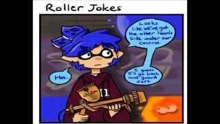 Splatoon Roller Joke Comic