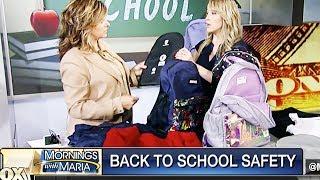 "Maria Bartiromo Hocks ""Fashionable"" Bulletproof Backpacks For Kids"