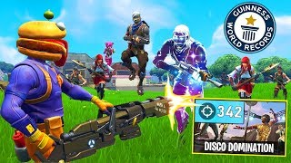 Most Eliminations *WORLD RECORD* (340+) In Fortnite!