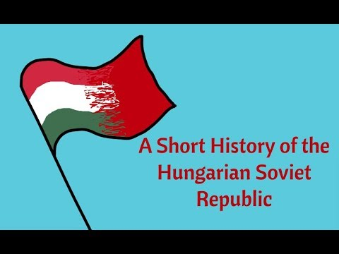 A Short History of the Hungarian Soviet Republic