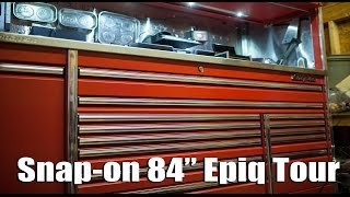 "Snap-on 84"" Epiq Toolbox Tour Update"