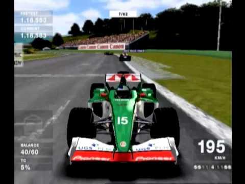 PS2 F1 2004 (Full Lap/Jaguar) Rd.4 San Marino
