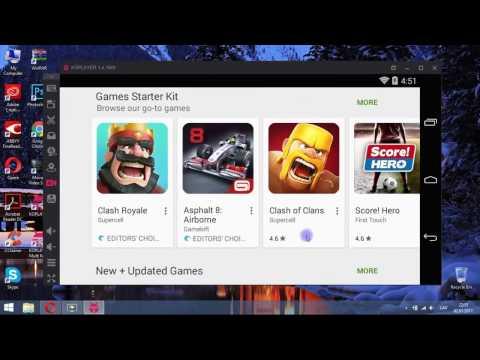 Установка на ПК эмулятора Android KoPlayer 1
