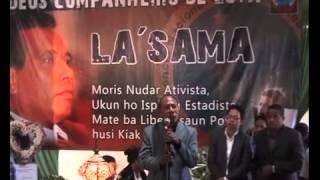 Membru RENETIL Ho Matan Ben Simu Matebian Lasama