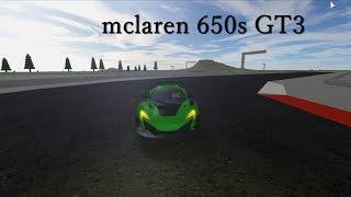 ROBLOX VEHİCLE SİMULATOR // MCLAREN 650S GT3 😦 // #4