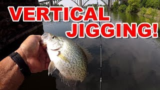 Vertical Jigging Tips For Finding and Catching Summer Crappie