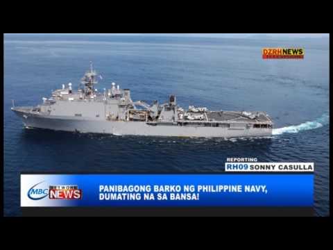GOOD NEWS: PANIBAGONG BARKO NG PHILIPPINE NAVY, DUMATING NA SA BANSA!