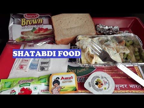 New Delhi Dehradun Shatabdi Food / Breakfast