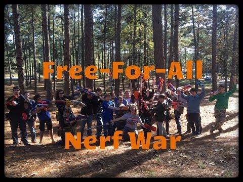 NERF WAR: Drac's Nosferatu in Free-For-All Battle (SENC War #13)