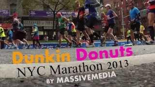 Massivemedia Dunkin Donuts Nyc Marathon 2013 Promo