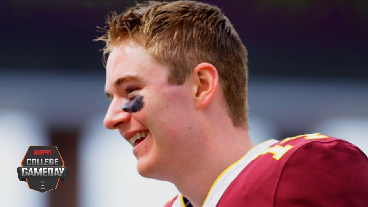 Casey O'Brien, Minnesota football's 4-time cancer surviving placeholder | College GameDay