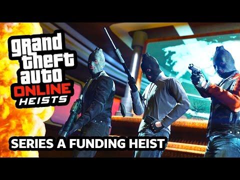 """GTA 5 Heists DLC Update - DRUG YACHT HEIST!!! GTA 5 """"SERIES A FUNDING"""" Heist Gameplay!!! (GTA 5 PS4)"""