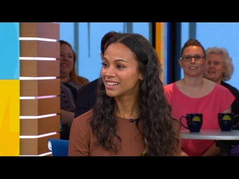 Zoe Saldana on raising 3 boys and her 'girl' moment on 'Guardians of the Galaxy Vol. 2' set