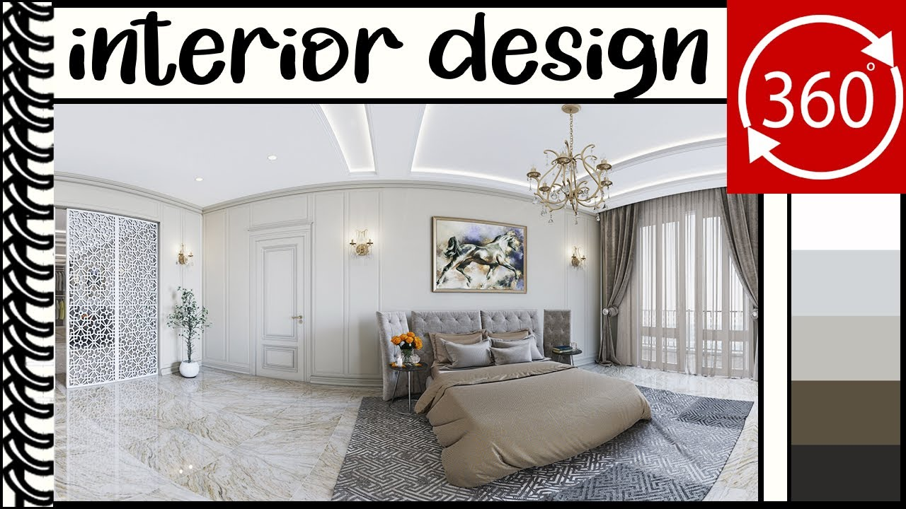 Vr 360 Interior Design Vr Video Master Bedroom Design Uptimevr