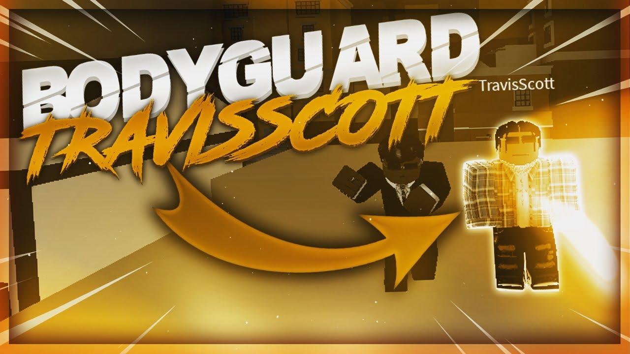 Download so i became TRAVIS SCOTT BODYGUARD in da hood.. (actually) | Da Hood Roblox