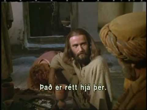 The Story of Jesus - English with Icelandic Subtitles Saga Jesú - ensku með íslenskum texta