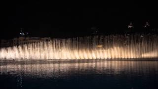 Dubai Fountain arabian music (Elissa - Aa Bali Habibi)