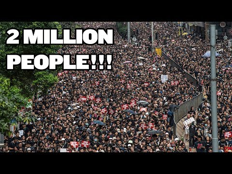Biggest Protest In Hong Kong's History | China Uncensored