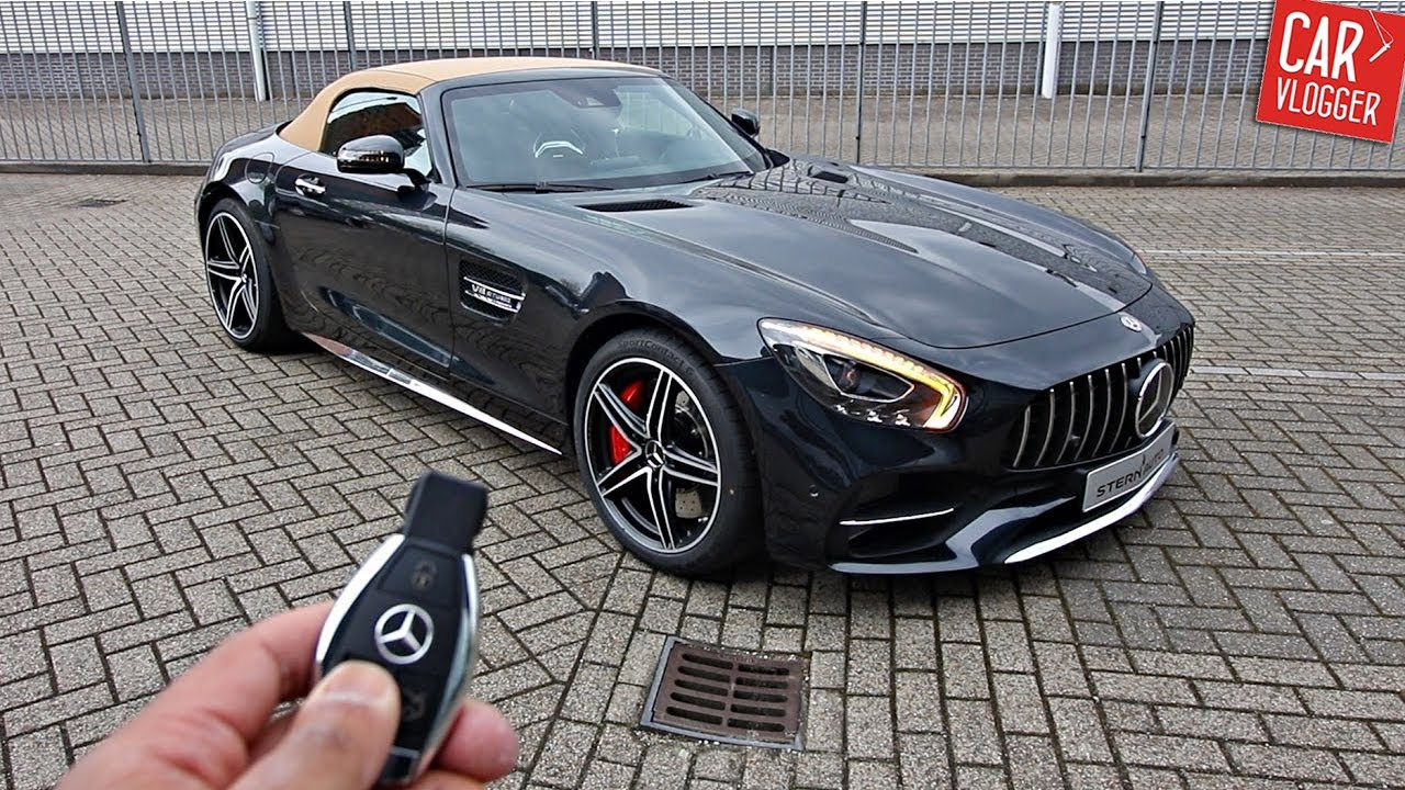 Mercedes Amg Gt C Roadster 2017 Inside The New Mercedes Amg Gt C Roadster 2017 Interior Exterior Details W Revs