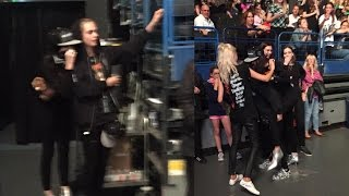 Kendall Jenner & Cara Delevigne DANCE at One Direction Concert