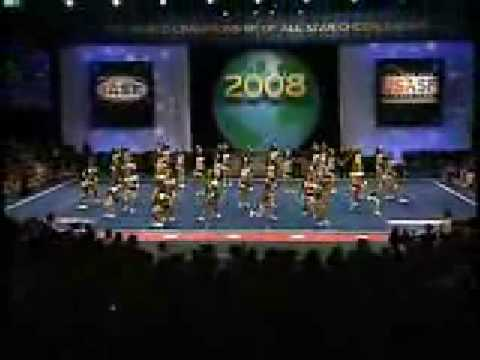 2008 Cheerleading Worlds World Cup Shooting Stars