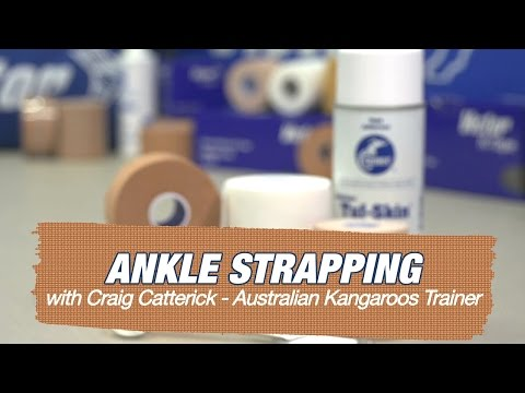 How to: Ankle Strapping