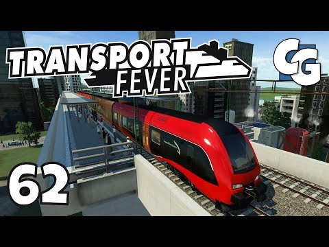 Transport Fever - Ep. 62 - Connecting the Southern and Central Lines - Transport Fever Gameplay