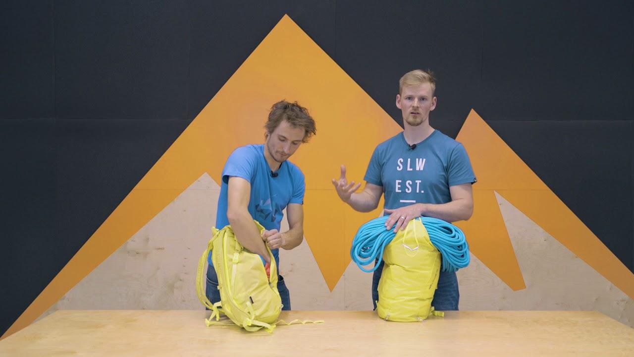 fd260a6837 Salewa Apex Climb 25 - plecak wspinaczkowy  8a.pl  - YouTube