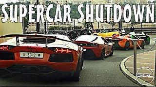 MONACO SUPERCAR SHUTDOWN: Insane Convoy Part 3