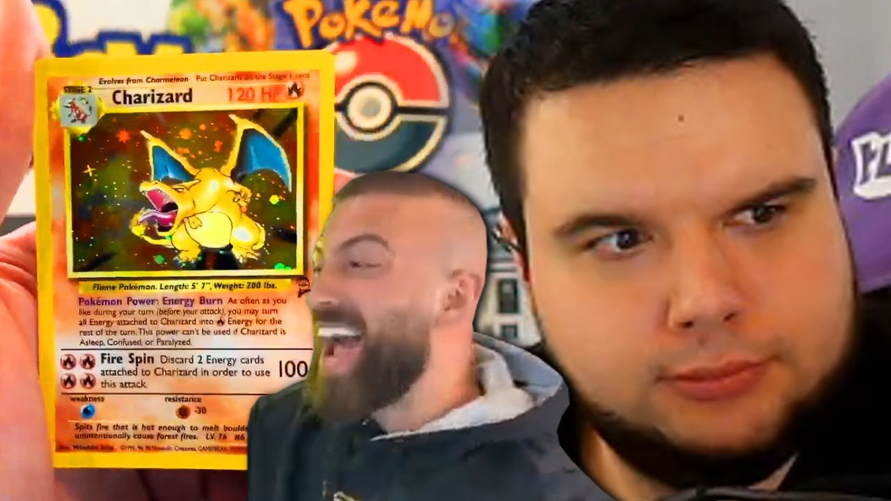 3 Booster aus $6000 Pokemon Booster Box! 😅 - REAKTION auf PokeRev Base Set 2 Unboxing | TrilluXe
