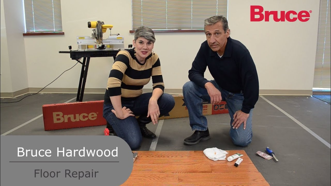 How To Repair Damage To Hardwood Floors Youtube
