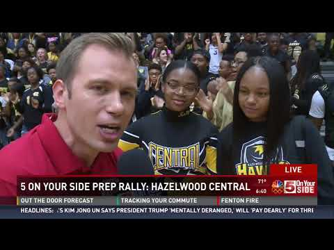 #5PrepRally at Hazelwood Central High School