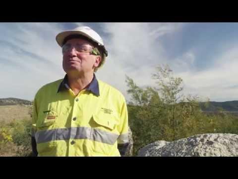 Glencore's Mangoola mine is developing natural landform in its mine overburden rehabilitation.