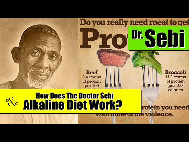 How does the Doctor Sebi Alkaline Diet Work? - Detox & Cure