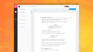 Studiobinder | free script writing ...