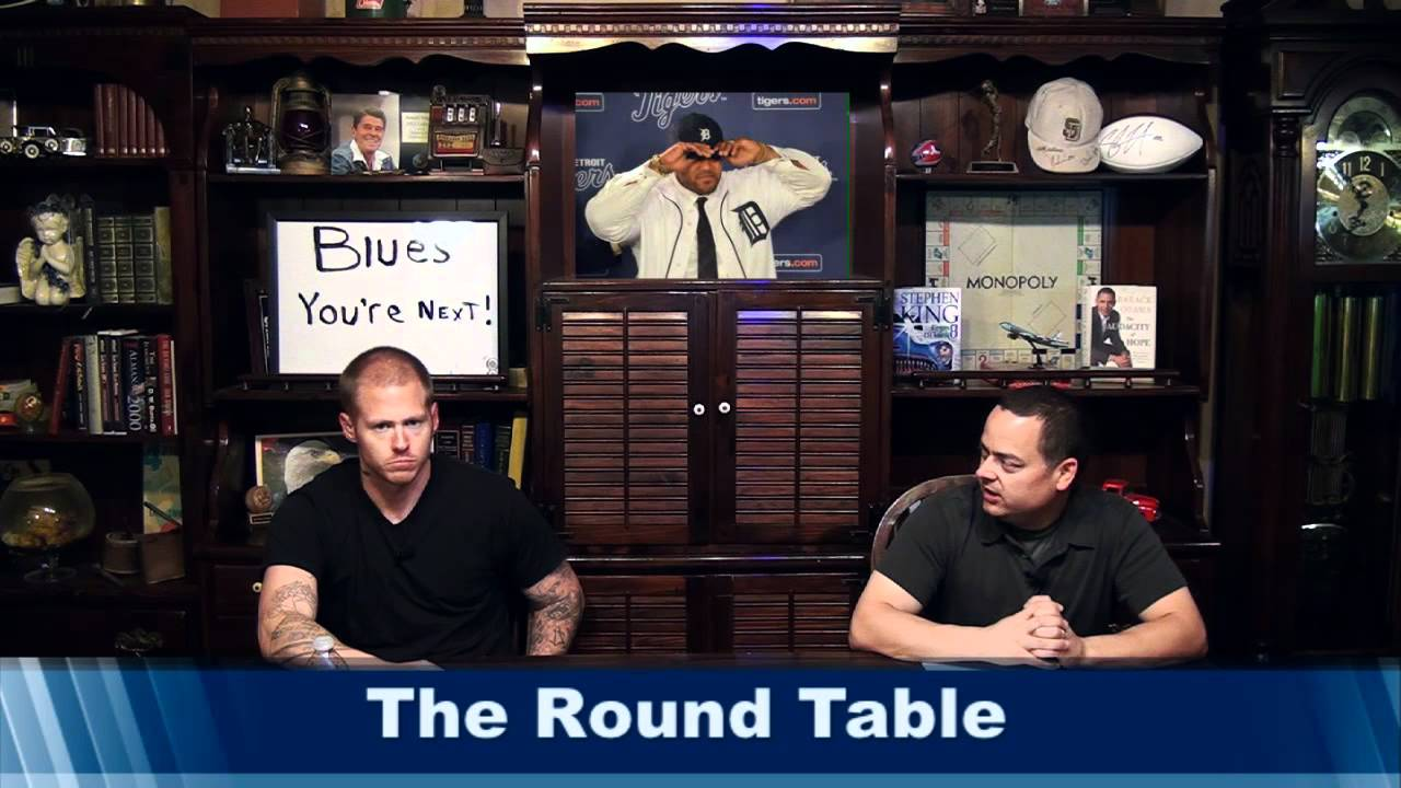 Round Table with Littleboy Mickey Loomis Metta World Peace and