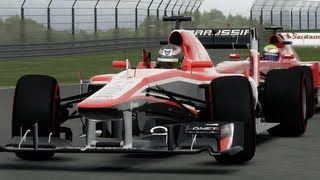 F1 2013 Crashes (HD) - Pc gameplay